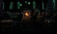 Sleep in the creepiest dormitory of Hogwarts Castle...