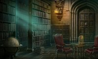 The Library in Dracula's custle