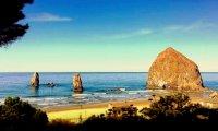 Camping in Oregon - Cannon Beach