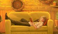 Summer Hufflepuff Common Room