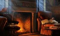 Inhabited Gryffindor Common Room