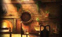 Hufflepuff Common Room at Nighttime