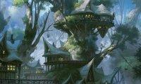 Elf City in the Woods