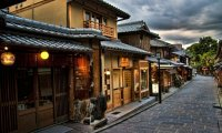 Rainy Zen Temple