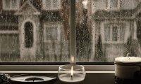 LeRoux's Apartment in the rain
