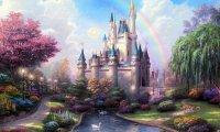 A fairy fantasy realm.