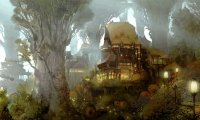 RAven, the Druid Tieflings home