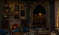 Enjoy the calming ambient sounds of the Ravenclaw Common Room