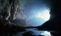 cave setting