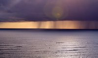 Distant Storms at Sea
