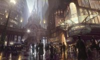 Ambience of the Steampunk City