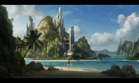 A beach in the future
