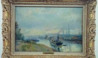 Lebourg, Remorqueurs à Rouen