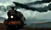 Hogwarts Express Ride in Rainstorm