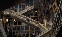 Main Hall of Moving Staircases, Hogwarts Castle
