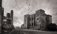 Rain at the Castle (1500's)