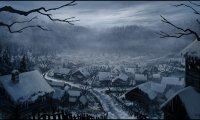 Grim Winter Village