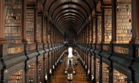 Winter in Hogwarts Library