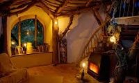 Going to Sleep in front of Granny Noon's Fire (Dragonkeeper Chronicles)