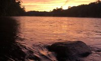 Sunset on the Wisconsin River