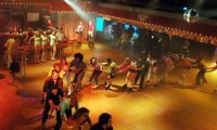 Roller Disco Party in the 70's