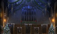 It's the night before Christmas, and all are inside...