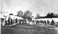 The ambient sounds of a Civil War Training Camp