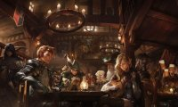 The Drunk Dragon Tavern fantasy rpg tavern