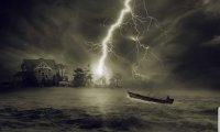 Creepy thunderstorm