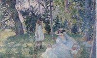 Goûter sur l'herbe, Lebasque