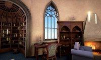 Ravenclaw Common Room (With Rain)