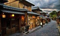 Rainy Spring Zen Temple