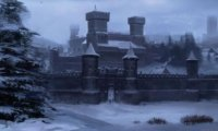 The Courtyard of Winterfell