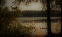At the edge of Echo Lake, MDI