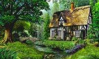 Sleeply Countryside Morning