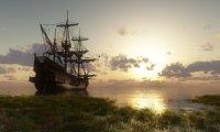 The ship creak