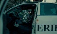 A plot twist inside Nicole Haught's cop car I guess