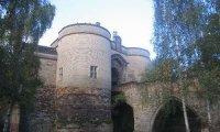 Nottingham Castle Courtyard