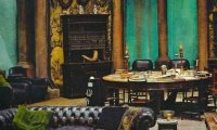Slytherin Commons (Evening)