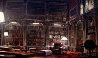 Studying at Hogwarts Library