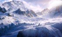 Skyrim's Mountains