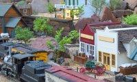 Railroad Machine Shop - Circa 1899
