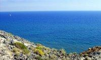 Relaxing sea landscape