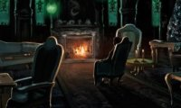 Inhabited Slytherin Common Room
