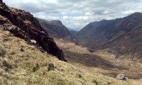 Sheltered in the Scottish Highlands