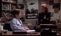 A Quiet Day in the X-Files Office