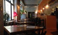 Small, hidden café in London