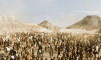 Walking through a Dothraki Camp