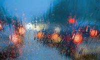 Car Ride in the Rain