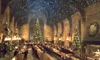 Holidays in the Dining Hall at Hogwarts